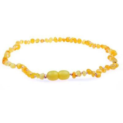 Raw Milk Amber Necklace