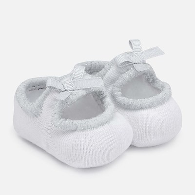 White Booties 3m