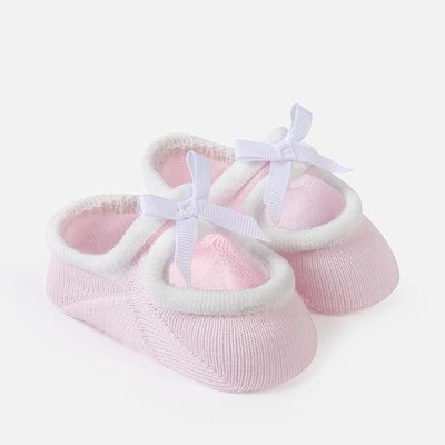 Pink Booties 3m