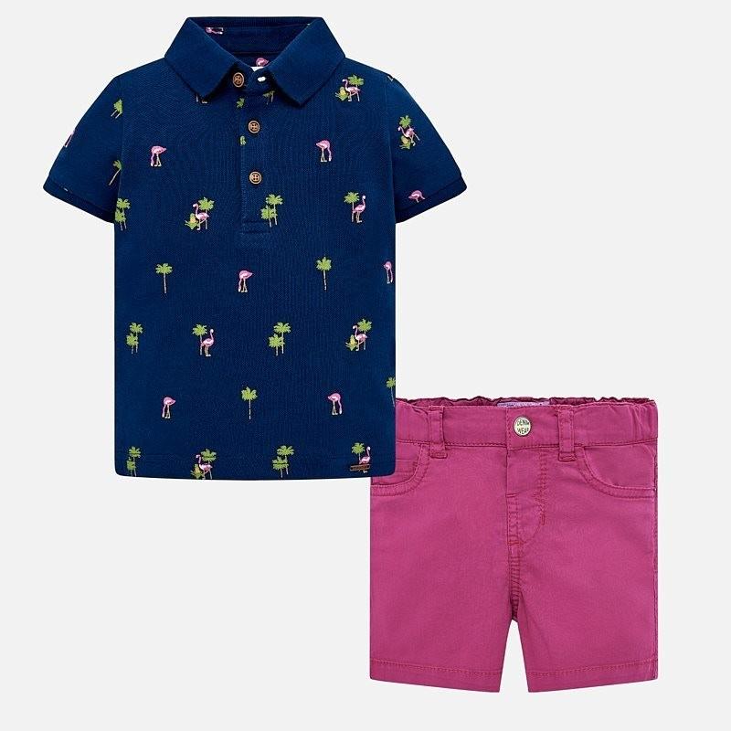 Polo Shorts Set 24m