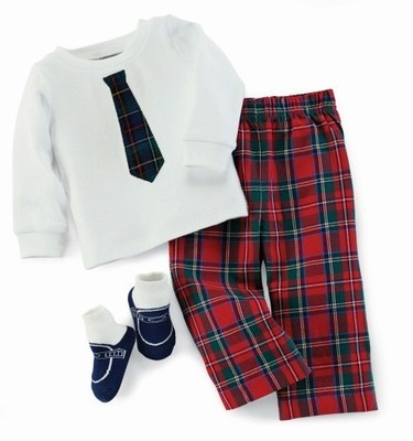 3pc Plaid Set