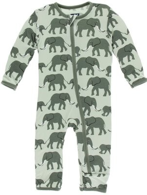 Aloe Elephants Coverall 18/24m