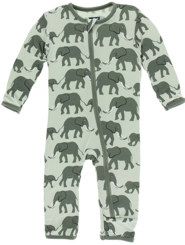 Aloe Elephants Coverall 4t