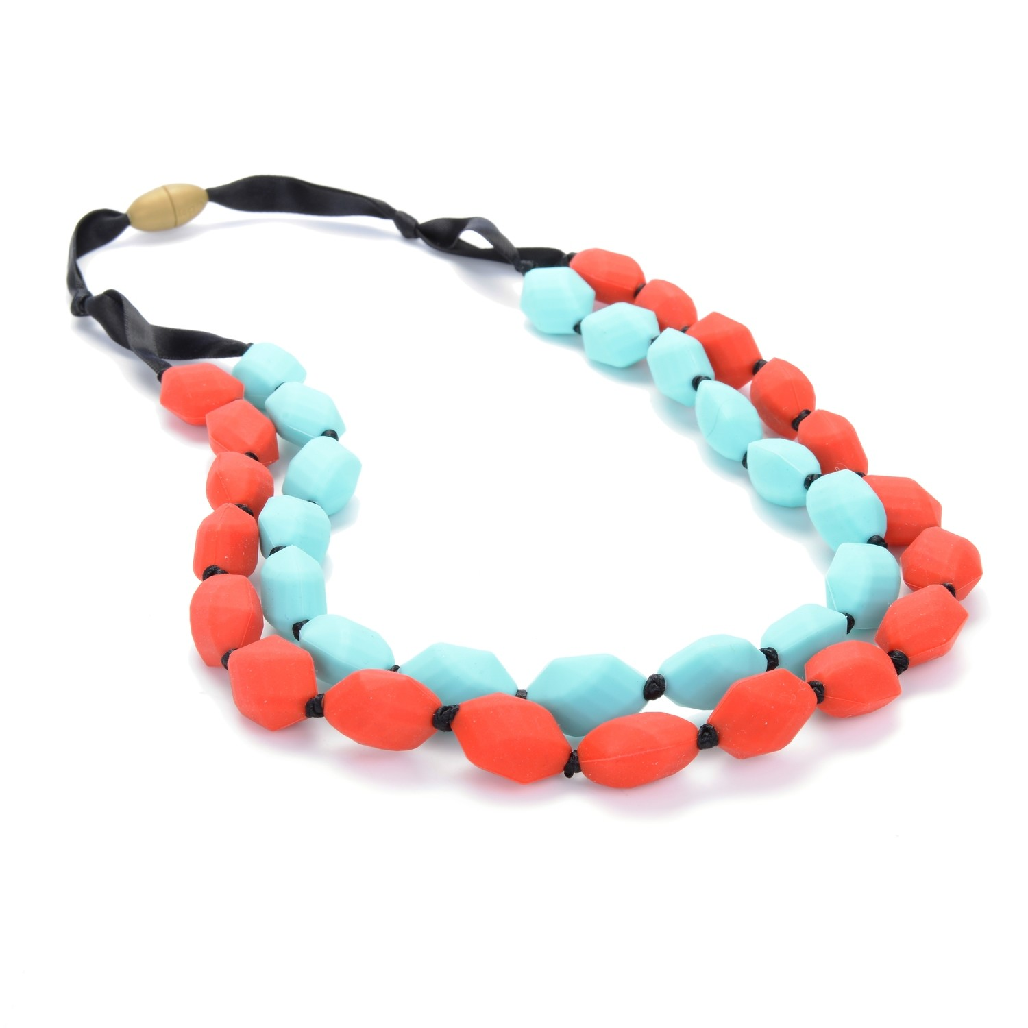 Astor Necklace - Cherry Red