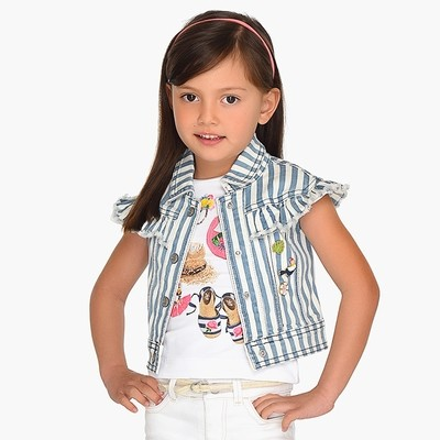 Striped Vest 3305 - 3