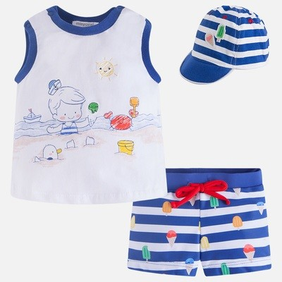 Swimsuit Set 1664 4/6m