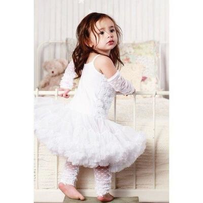 White Pettidress 0-12m
