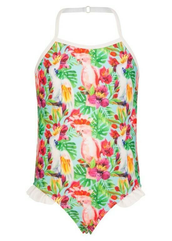 Tropical Birds Swimsuit - 2