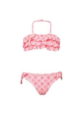 Diamond Ruffle Bikini - 3