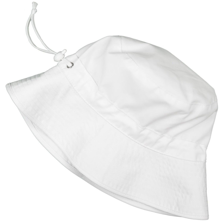 White Bucket Hat - L