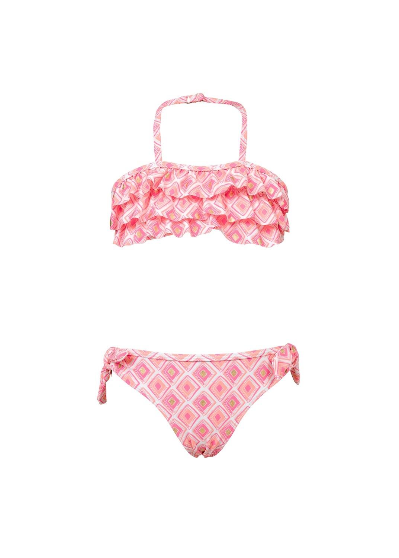 Diamond Ruffle Bikini - 8
