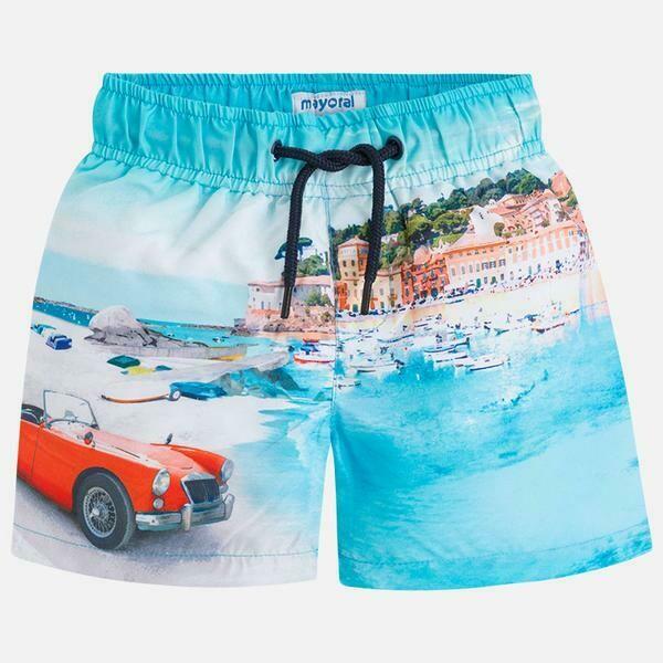 Beach Print Swimsuit 3626 - 7