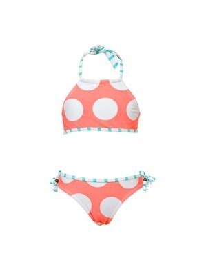 Coral Dots Bikini - 3