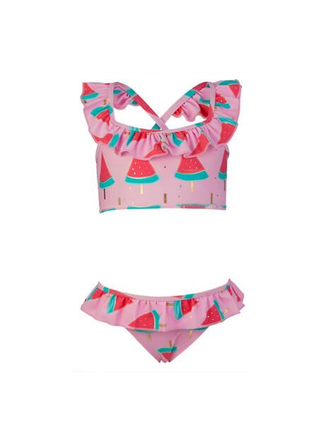 Watermelon Ruffle Bikini - 2