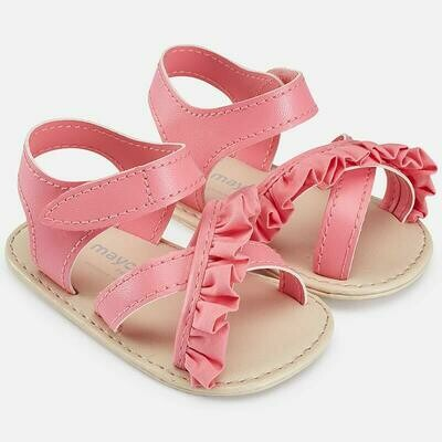 Pink Ruffle Sandals 9131C - 16