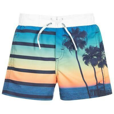 Sunset Print Swimsuit 3617-6