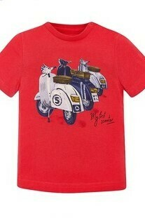 My 1st Scooter T-Shirt 1038G 12m