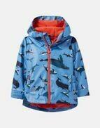 Blue Whales Raincoat 6y