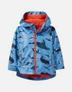 Blue Whales Raincoat 5y