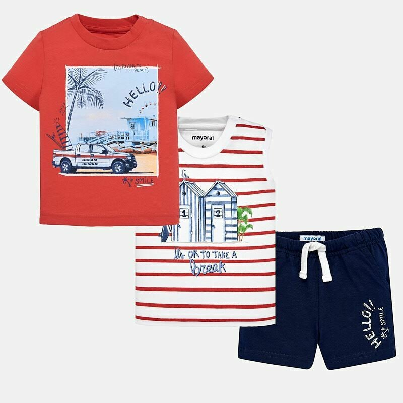 Surf Shorts Set 1646a 12m