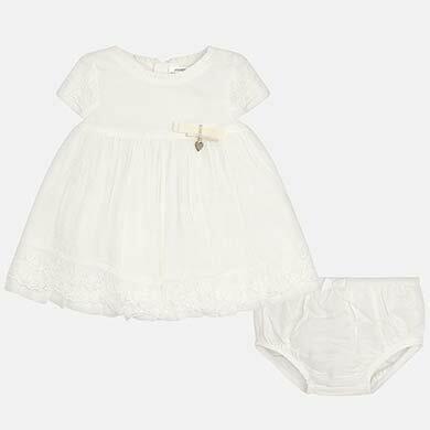 Lace Dress Set 1825 6/9m