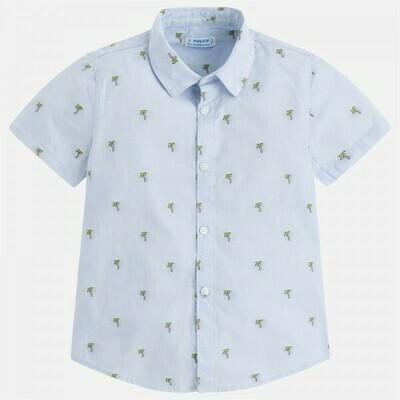 Palm Print Shirt 3148-5