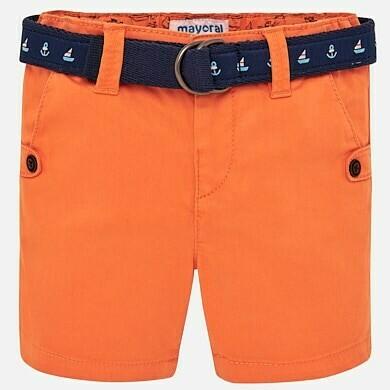 Orange Belted Shorts 1241 18m