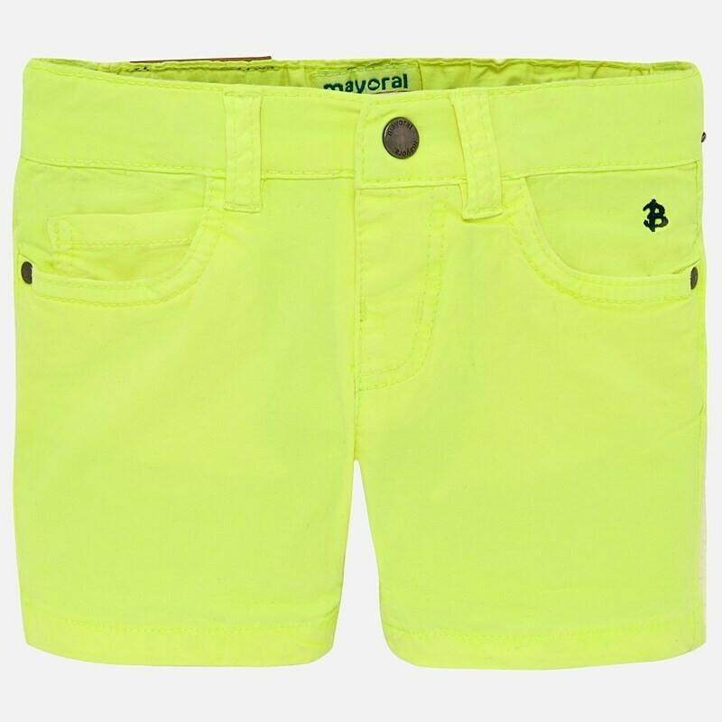 Twill Shorts 206P 24m