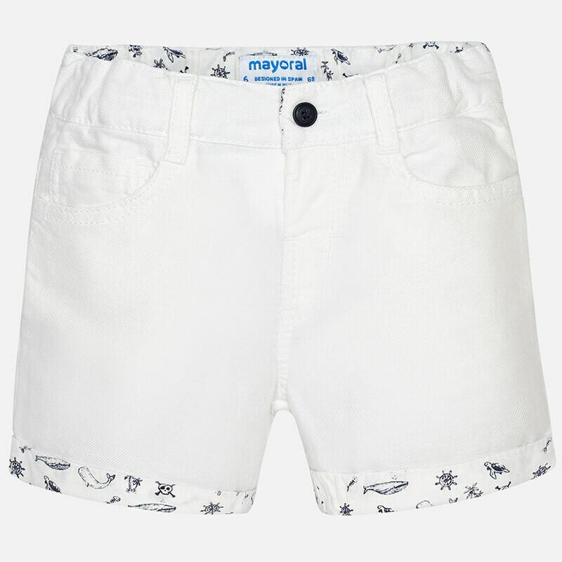 Cuffed Shorts 1292 9m