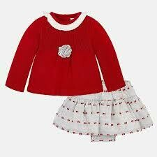 Sweater & Skirt Set 2870 2/4m