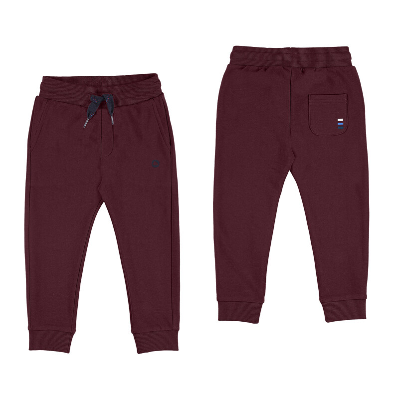Burgundy Sweatpants 725 - 3