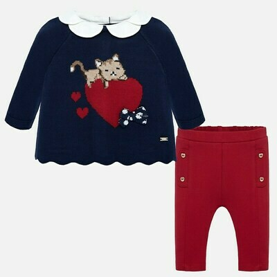 Sweater Set 2513 6/9m