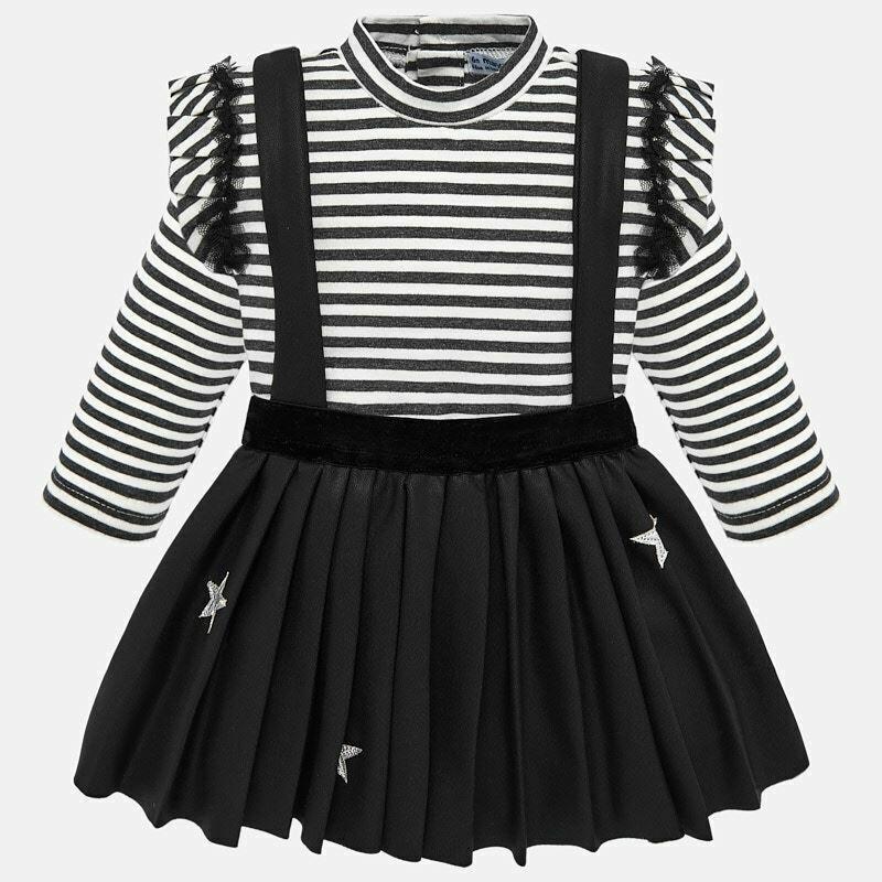 Black Skirt Set 2937 18m