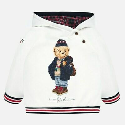 Bear Hooded Sweatshirt 2439 6m
