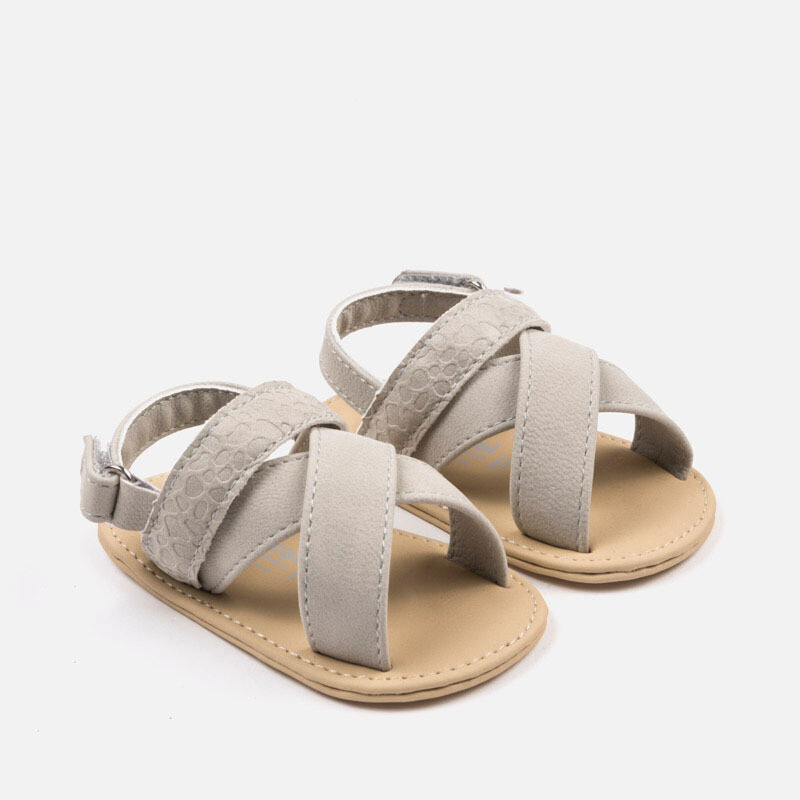 Baby Taupe Sandals 9068 - 17