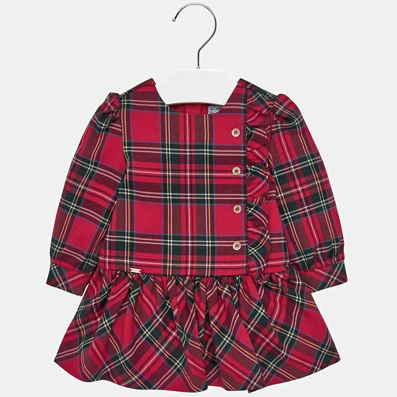 Plaid Dress 2926 - 6m