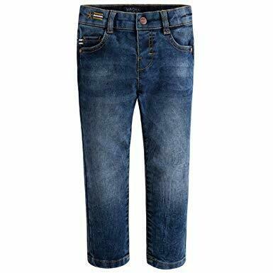 Denim Ribbed Jeans 4515 - 3