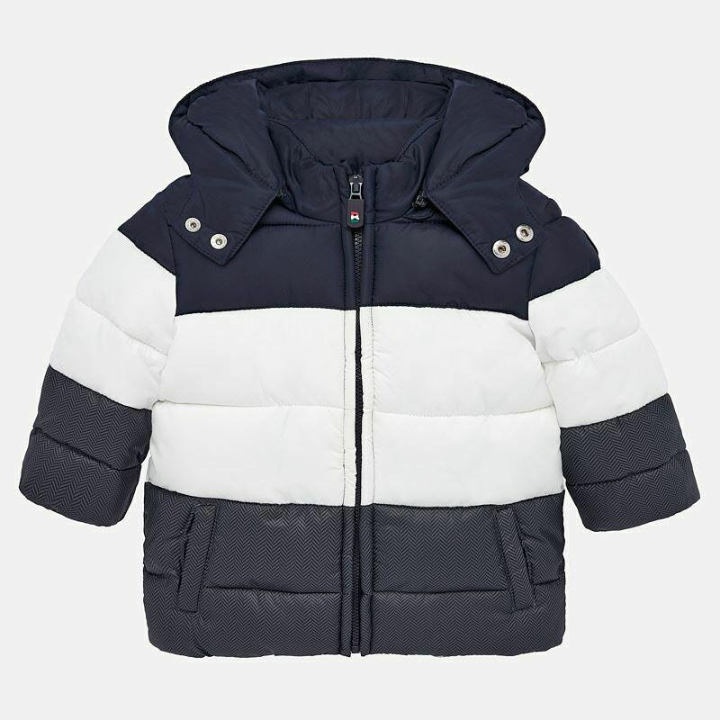 Navy Padded Coat 2451 - 9m