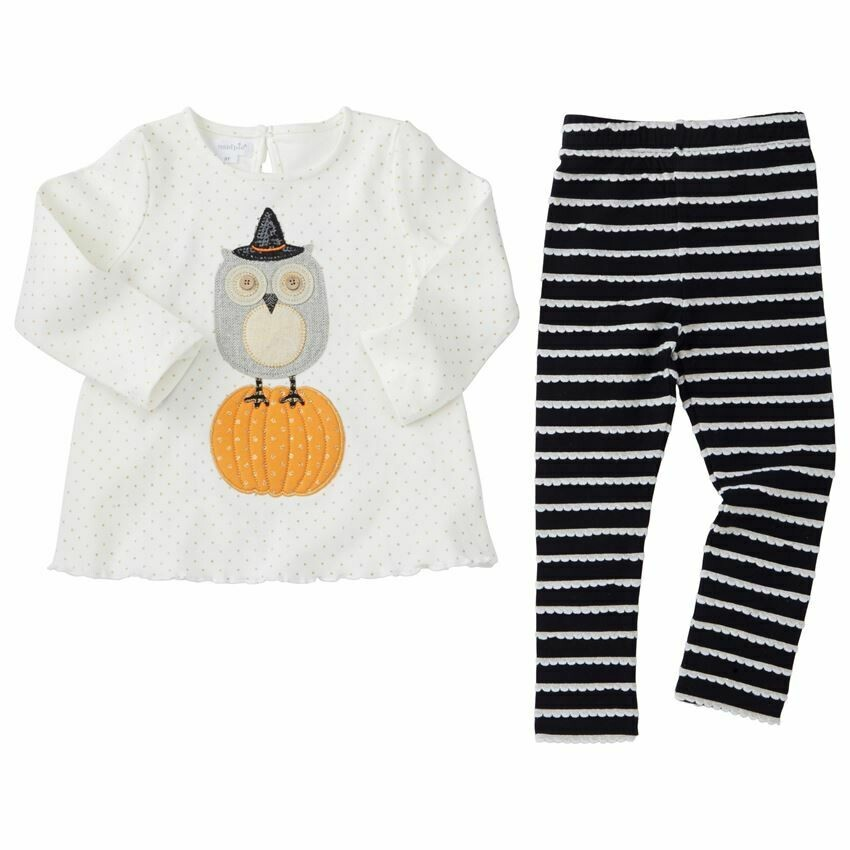 Owl Legging Set 6-9m