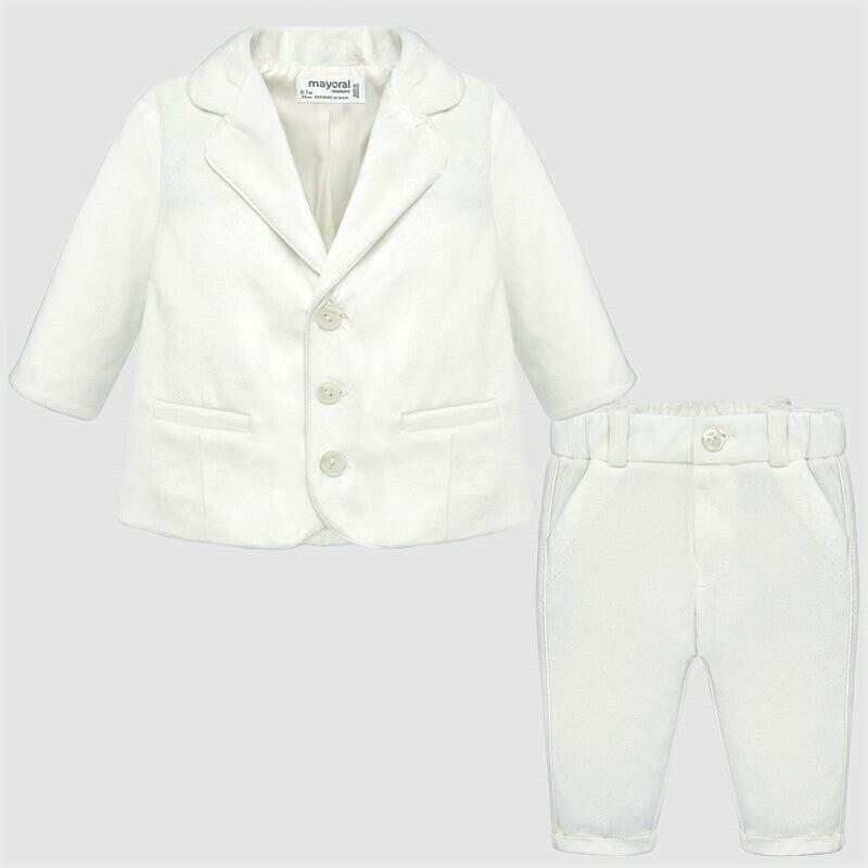 White Suit 2528 6/9m