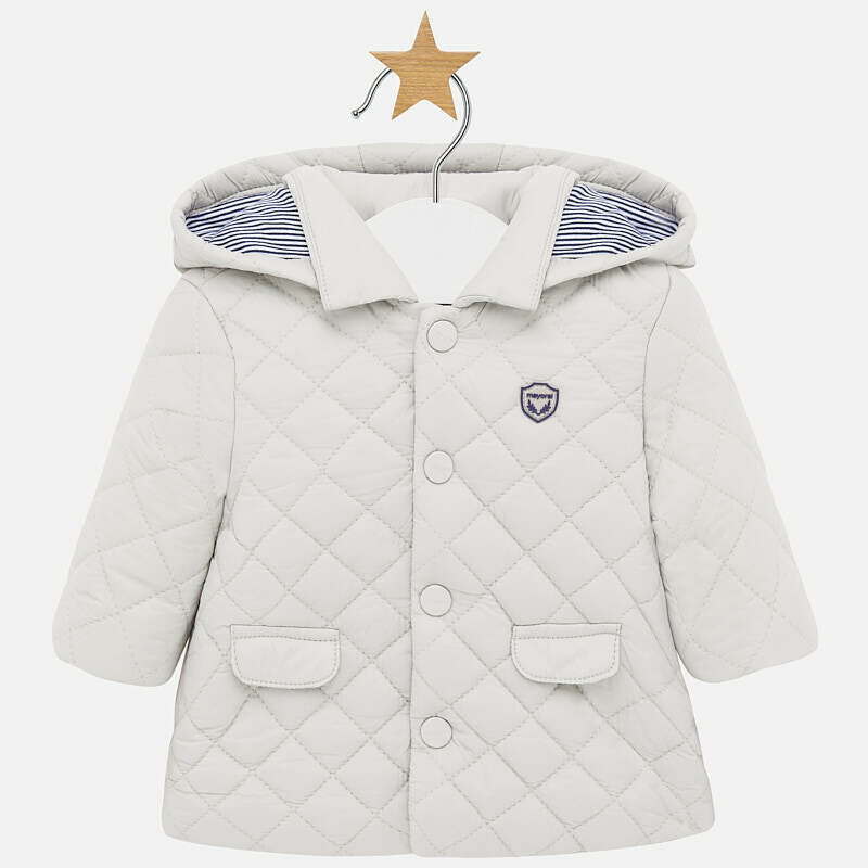Quilted Coat 2403 - 2/4m