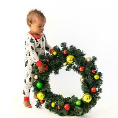 Christmas Trees PJ Set 3t