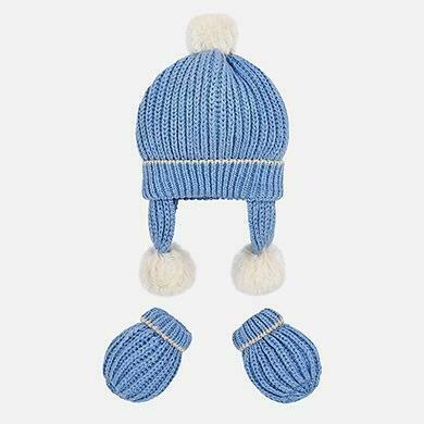 Hat & Mitten Set 9903 12m