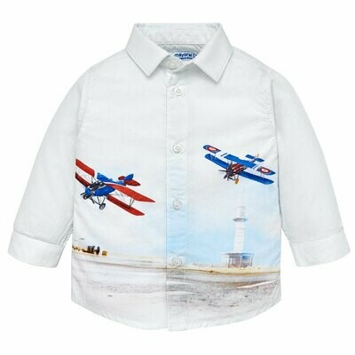 Airplane Shirt 2138 12m