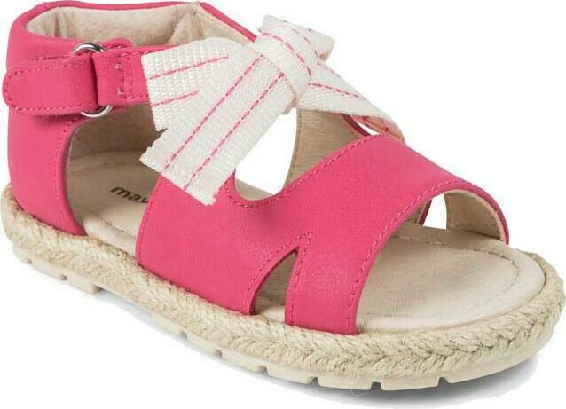 Pink Bow Sandal 41872 - 3.5