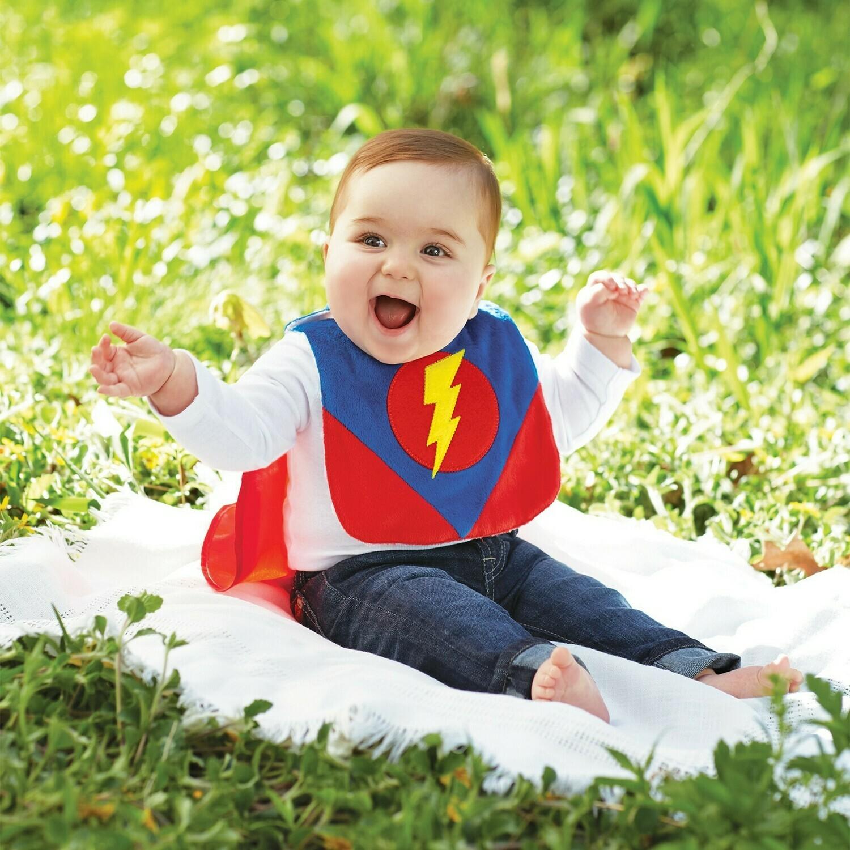 Superhero Bib