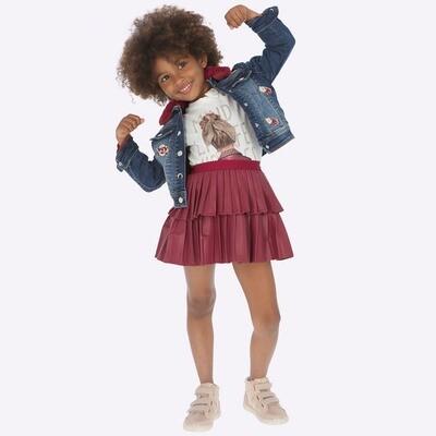 Leatherette Skirt 4909 - 3