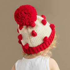Red Popcorn Hat - S