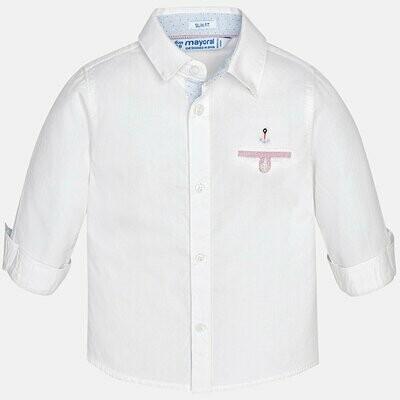 White Dress Shirt 1170B 18m