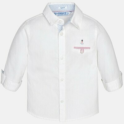 White Dress Shirt 1170B 9m